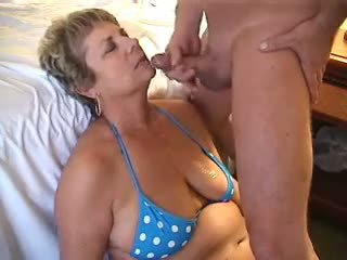 Mom Janet Has Her Face Soaked, Free Cumshot Porn Video 88