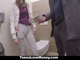 TeensLoveMoney - Russian Babe Fucks Stranger For Money