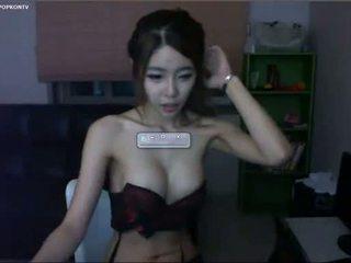 webcam, kõhn, korea
