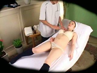 Spycam Reluctant Schoolgirl climax Massage