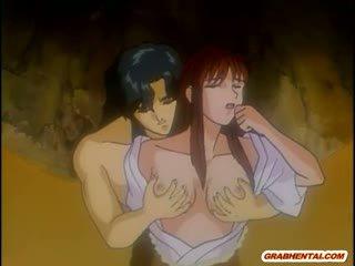 Japonesa hentai mamá caliente follando por bald