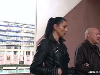 Ania kinski in a swiny old bag fucks ji seronja