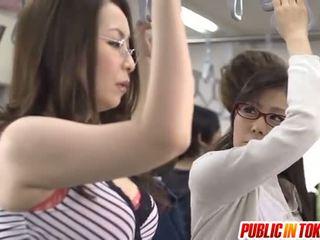 japonec, sex na verejnosti, skupinový sex