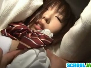 Bound Chika Arimura Fingered To A Powerful Orgasm