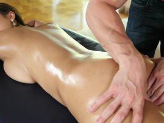 olej, prírodné prsia, masáž