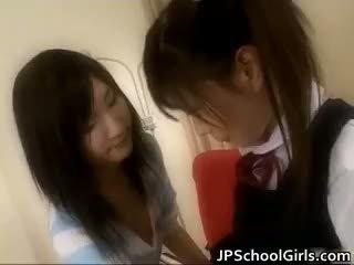 Extremely karstās japānieši schoolgirls part6