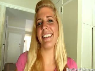blowjobs, blondīnes, amatieris