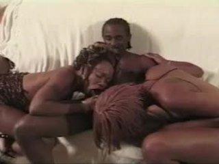 čierna a ebony, hardcore