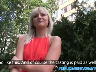 PublicAgent Slim blonde with perfect t...