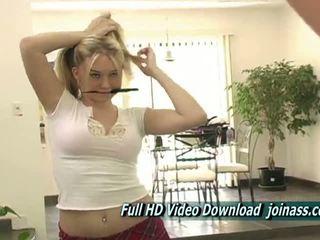hq kotě, ideální masturbace vidět, plný blondýnka ideální