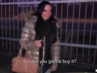 Tereza accepts cash for public sex