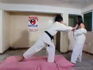 Gyzykly karate amjagaz sikiş action!