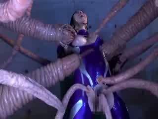Thick tentacle drilling bigtit oriental porno asu udan cunt