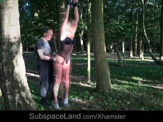 Slave Suffers Bondage Pain Rough Fuck Mouth Use in the