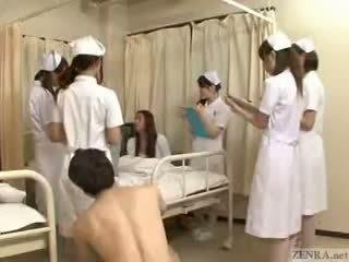 Stop il tempo a fondle giapponese nurses!