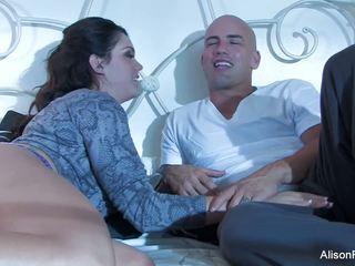 Cantik alison tyler gets banged dalam katil