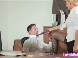 Office Babe Anna Polina Banged Real Good