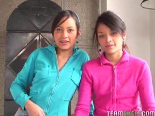 Tami fabiana এবং diana delgado মধ্যে hawt ফোরসাম