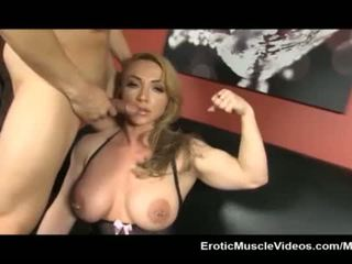 EroticMuscleVideos BrandiMaes Muscle Slave Part 2 <span class=duration>- 16 min</span>
