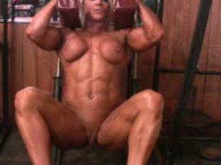 Female ar muscle rubbing