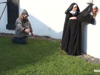 Catholic nuns dan itu besar sekali! gila besar sekali dan vaginas!