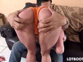 sariwa brunette, ideal ass, ikaw pornstar sa turing