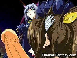 Hentai futanari supervillain!