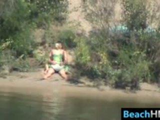 voyeur, beach, outdoor