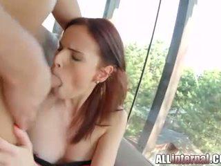 online brunette all, great double penetration, ideal cum new