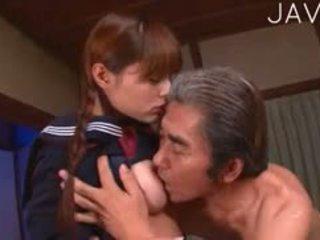 japoński, stary + młoda, jednolity
