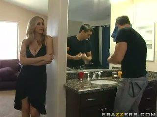 Super 性感 巨乳 金發 媽媽我喜歡操 作弊 她的 丈夫 和 他媽的
