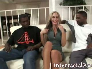 2 groß bis sein wahr: sarah jessie gets banged von two schwarz dudes