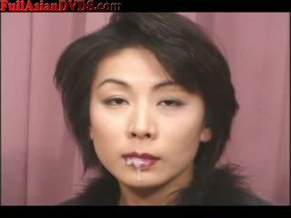 Bukkake for mature jap prostitute