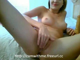 blondínky, webkamery plný, masturbácia