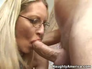 Golden Haired Milf Emma Starrgets Double Sprayed On Her Beautiful Face