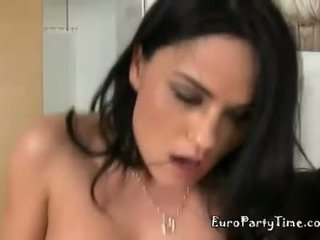 Aida And Nancy Makes The Men Fuck Them As They Offer Their Pussies