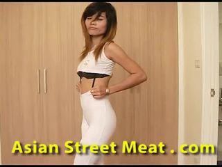 Clean 泰国 slapper sweats 为 精子