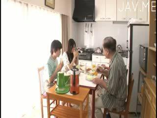 japonais, pipe, bébé