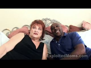 Grandma Gets Vulva Pounded By Big Ebony Thang