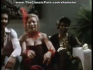 sexe de groupe, millésime, classic gold porn