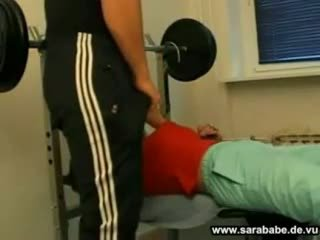 Duits gym seks