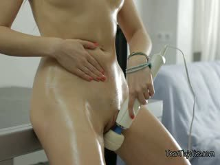 Incredibly Yummy Taissia Takes Advantage Of Her New Vibrator