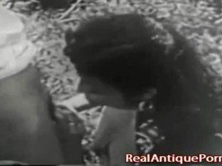 1915 gila antik di luar porno!