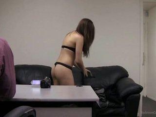 brunette, mignon, sexe de l'adolescence
