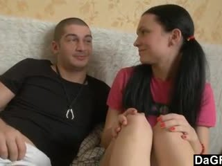 Taking Her Virginity With His Big Dick