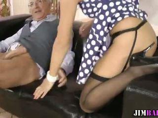 Amateur teen in stockings