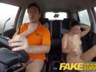 Fake driving schule worst driver je erhalten gefickt im die auto