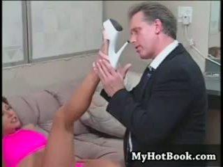 seks oral, buah dada besar, fetish kaki