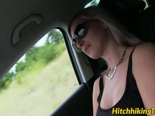 Blonde Babe Alena Getting Her Tight Pussy Stretched.