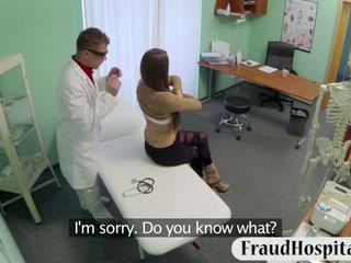 Sexy Patient Pounded With Fake Doctor On Examining Table